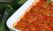 PARMIGIANA DI ZUCCHINE SENZA FRITTURA, ricetta al forno