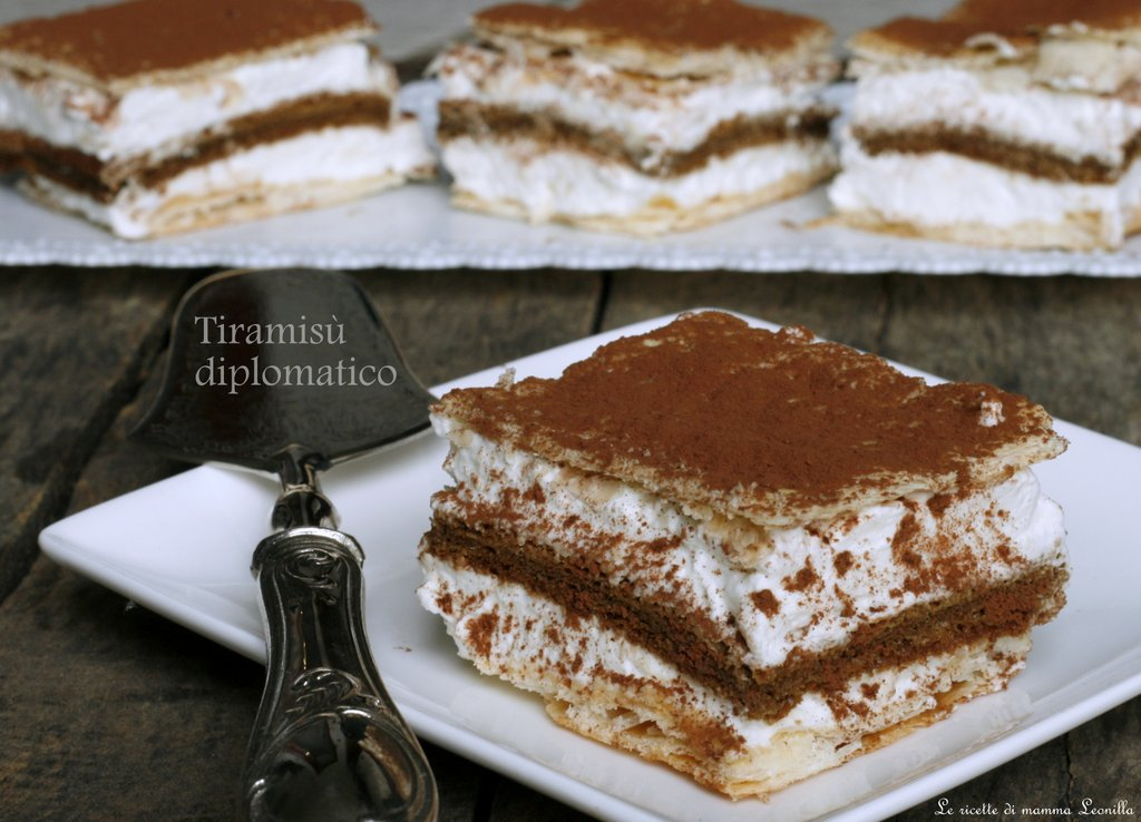 Tiramisu 39 diplomatico ricetta senza uova crude for Tiramisu particolari