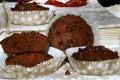 MUFFIN SOFFICI AL CIOCCOLATO DOPPIO, ricetta per la colazione