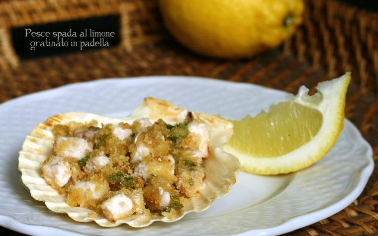 PESCE SPADA AL LIMONE GRATINATO IN PADELLA, ricetta di pesce