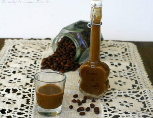LIQUORE CREMA DI CAFFE FATTO IN CASA, anche Bimby