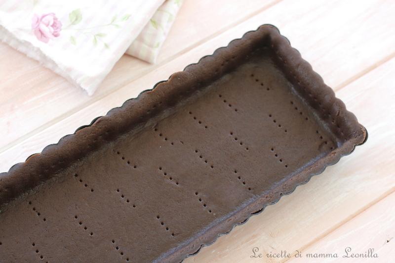 PASTA FROLLA AL CACAO SENZA BURRO, base per biscotti e crostate