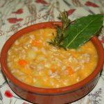 ZUPPA DI FARRO CREMOSA -ricetta zuppe di cereali