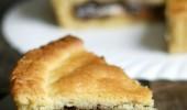 CROSTATA AL MASCARPONE E NUTELLA ,dolce goloso da forno
