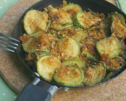 ZUCCHINE SABBIOSE IN PADELLA, ricetta contorno caldo