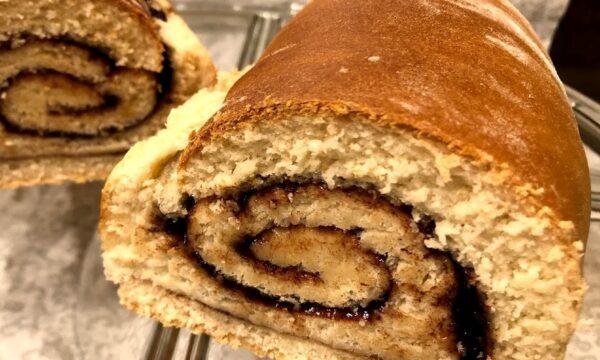 Pane dolce alla cannella (cinnamon swirl bread)