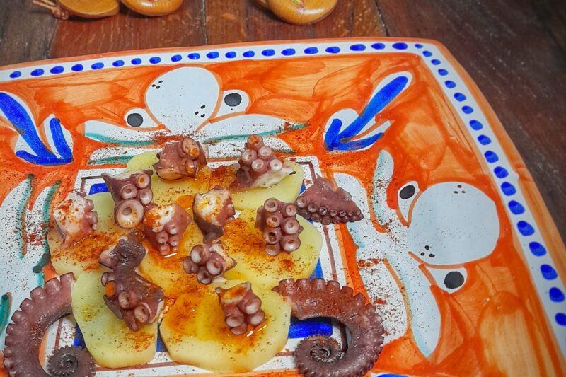Polpo e patate o pulpo gallego