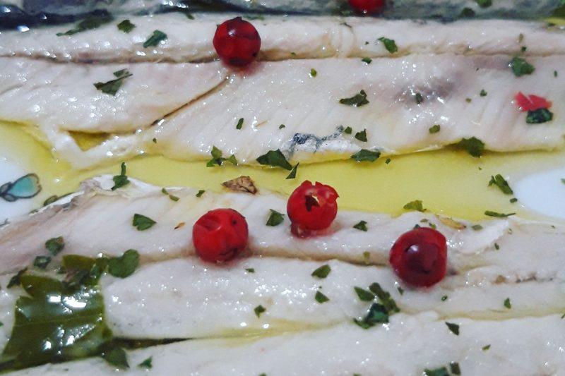 Alici marinate boquerones en vinagre