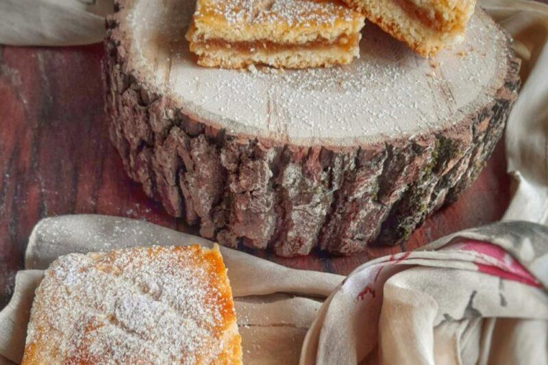 Almás pite torta di mele ungherese