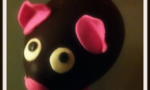 Pasqualino il maialino, un uovo decorato