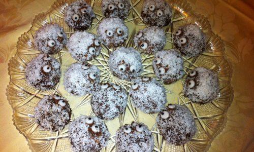 Mostriciattoli dolcetti per Halloween