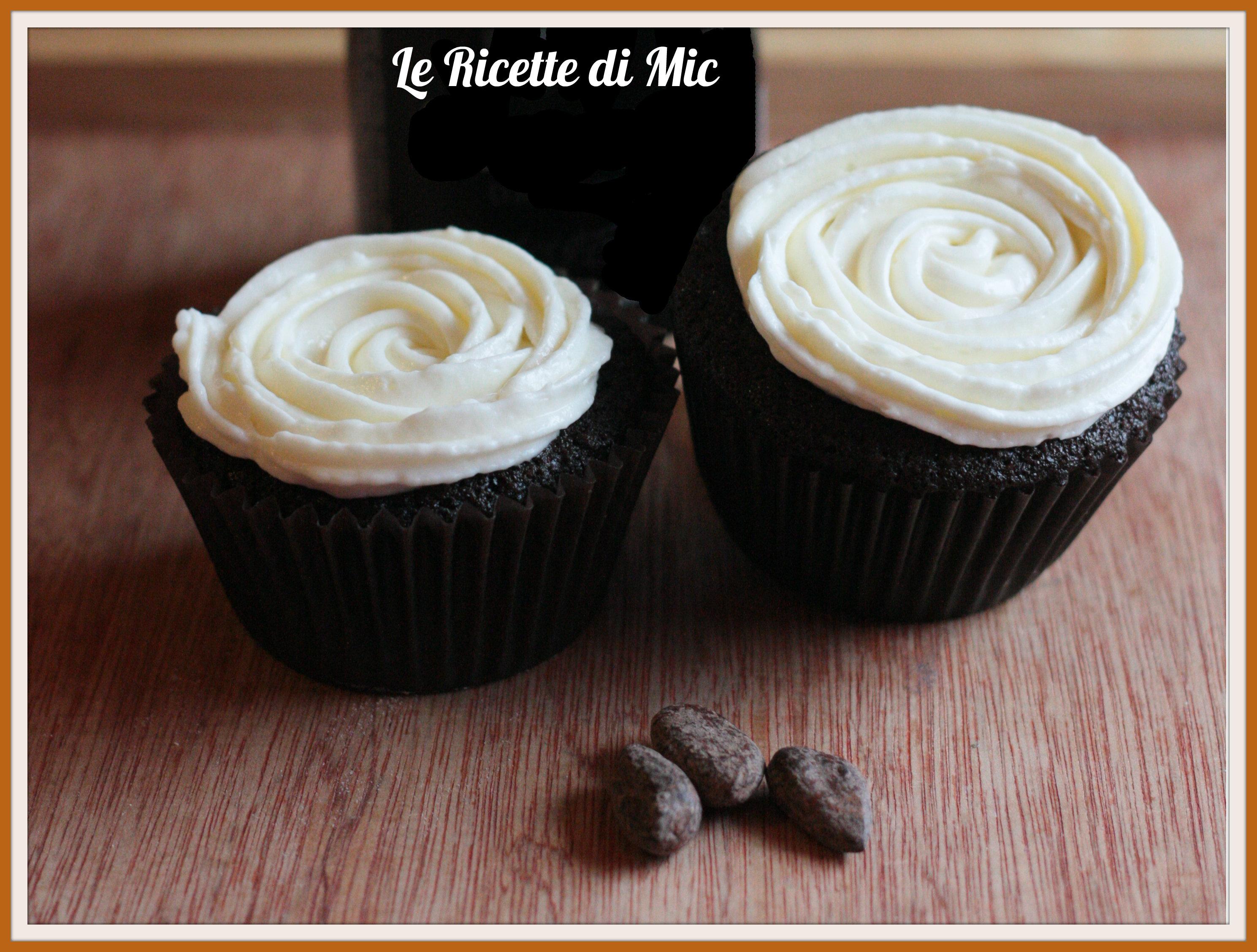 Eccezionale cupcake alla guinness | Ricetta dolce | Le ricette di Mic SR16