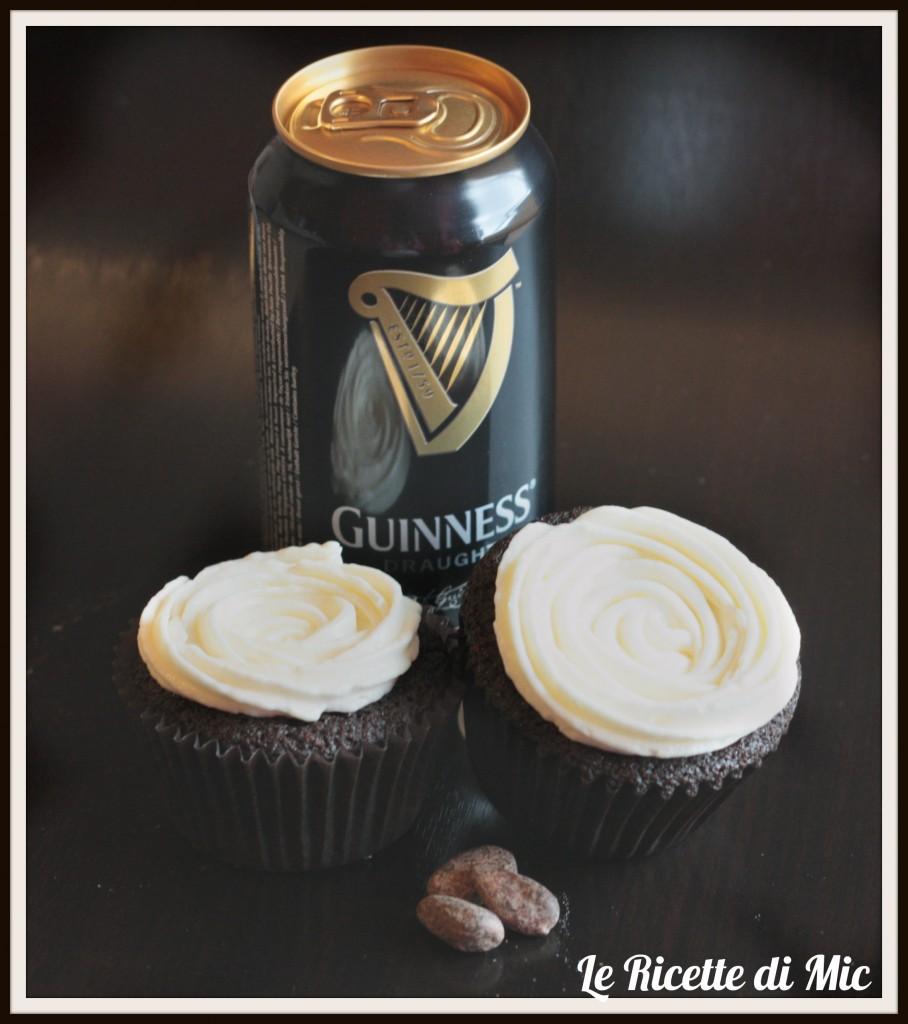 Conosciuto cupcake alla guinness | Ricetta dolce | Le ricette di Mic QI66