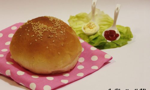 Panini da hamburger (burger buns)