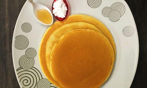 Pancakes di soli albumi