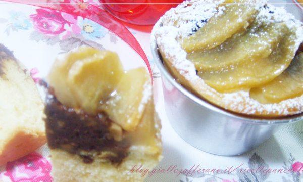 Muffin alle mele e…….fantasia di cioccolato