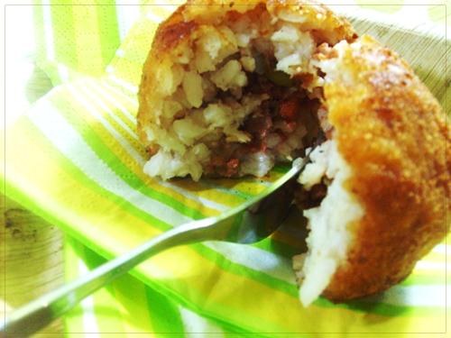 ricetta arancini di riso alla carne ricetta arancini di riso alla carne