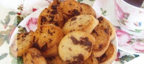 Cookies al cioccolato e farina di castagne