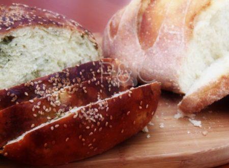 Pane alla rucola e bianco |Pane&Cioccolatoblog