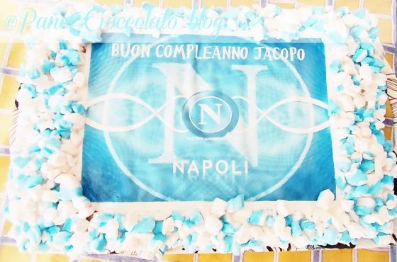 Torta Napoli ,decorazione veloce  Pane&Cioccolato blog