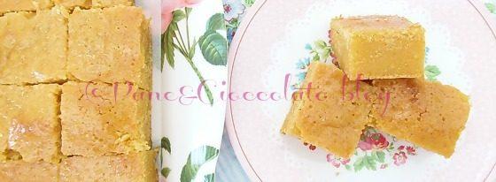Quadrotti arancia carota limone , ricetta merenda