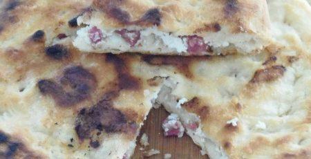 Ricetta pizza ripiena salame e ricotta |Pane&Cioccolatoblog