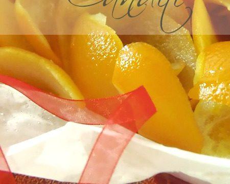 Ricetta canditi arancia