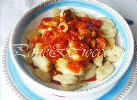 Ricetta Gnocchi di patate ,foto passo passo