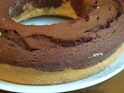 Ciambellone cioccolato e panna ,ricetta semplice