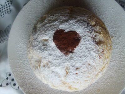 Zuccotto San Valentino alla ricotta ,ricetta Veloce/Facile