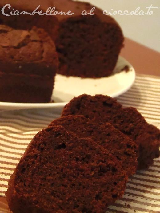 ciambellone facile al cioccolato