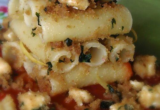 Ziti a Candela con le Sarde,ricetta pasta