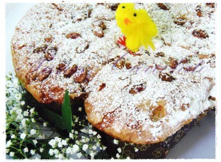 Pandolce di Pasqua alle amarene e pistacchi,ricetta pasquale