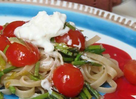 Ricetta pasta con asparagi selvatici | Pane&Cioccolatoblog