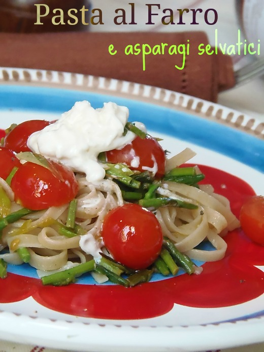 ricetta pasta con asparagi selvatici ricetta pasta con asparagi selvatici