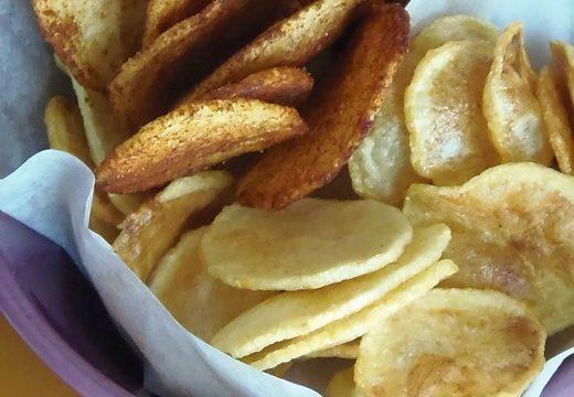 Chips di patate alla paprika |Pane&Cioccolatoblog