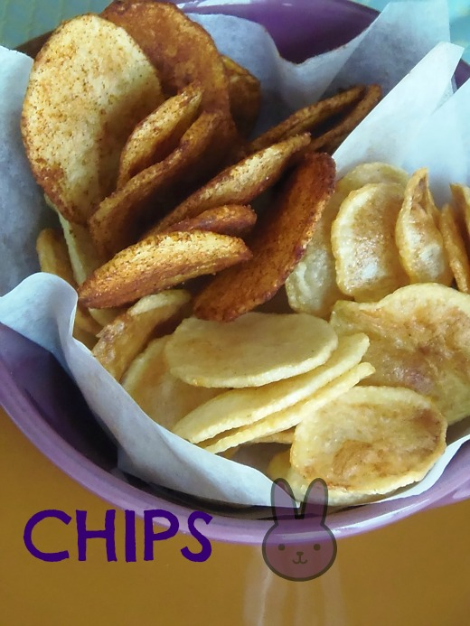 chips di patate chips di patate chips di patate