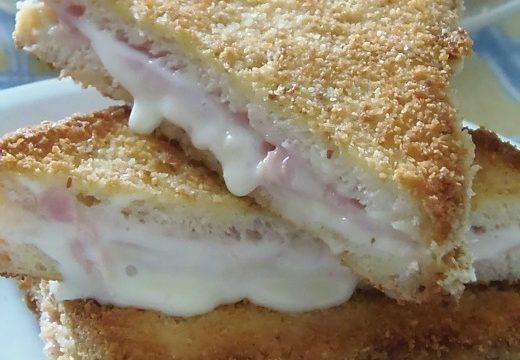 Toast Fritti prosciutto e formaggio | Pane&Cioccolatoblog