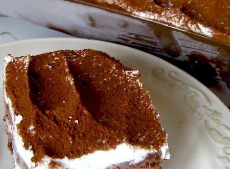 Semifreddo Pan di Stelle con Crema al Rum