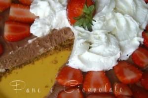 Cheesecake nutella e fragole | Pane&Cioccolatoblog