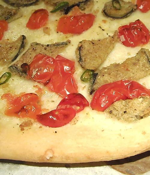 pizza alle melanzane impanate melanzane impanate melanzane impanate