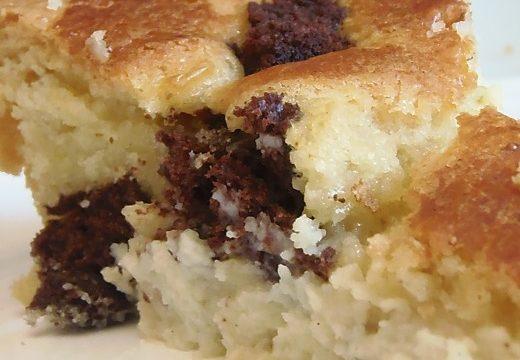 Torta Nua e Brownies, ricetta golosa