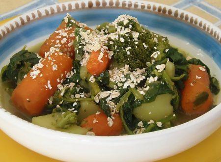 Zuppa di Verdure autunnale, ricetta con avena