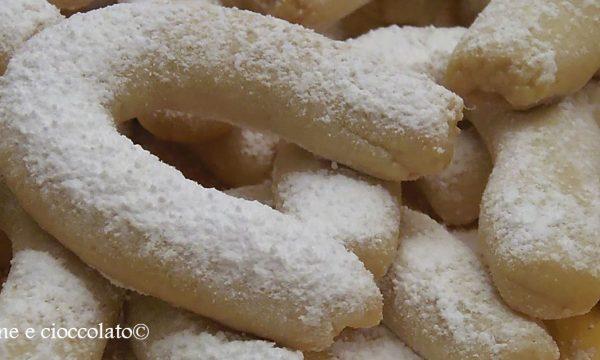 VanilleKipferl ricetta biscotti tradizionali biscotti alla vaniglia