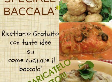 Ricettario sul baccala' gratuito , ricette economiche