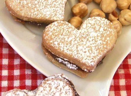 Ricetta Biscotti a forma di cuore