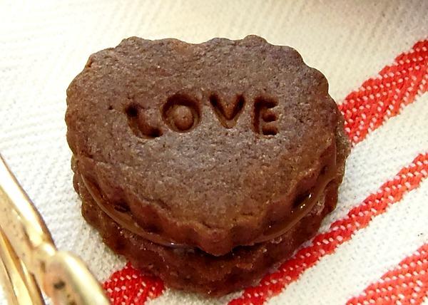 Biscotti di S. Valentino alla nutella senza uova