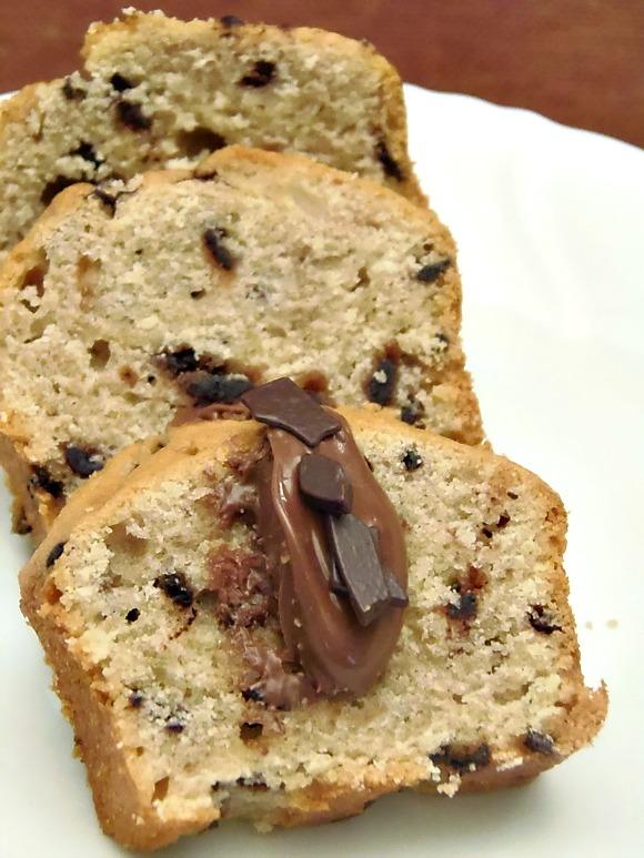 ricetta plumcake con scaglie di cioccolato