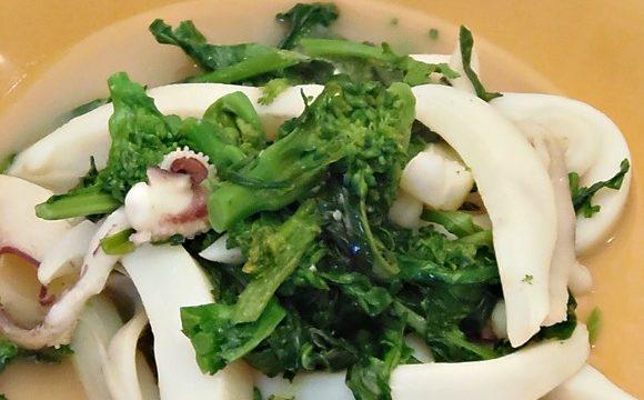Ricetta seppie con broccoli – pane e cioccolato blog