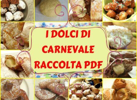 I Dolci di Carnevale raccolta di ricette